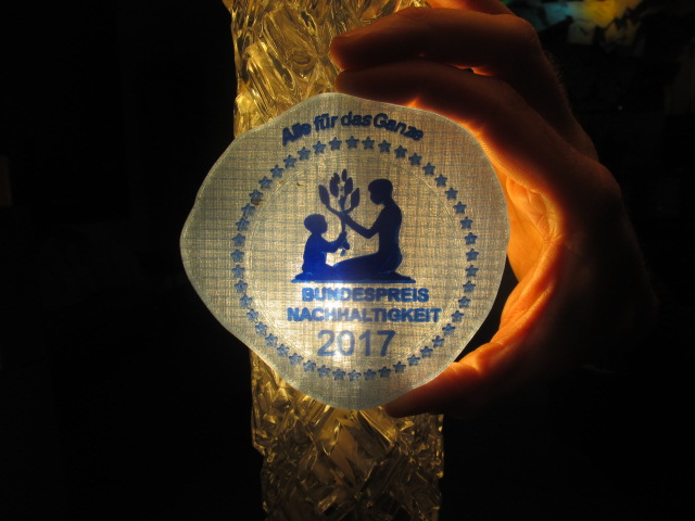 Bundespreis Nachhaltigkeit: Nominierungsrunde 2018 eröffnet