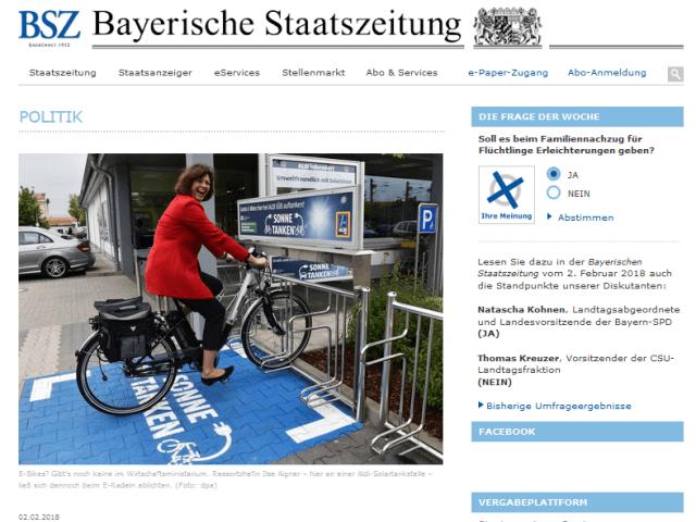 Bayerische Staatszeitung: BVNG fordert Nachweis nachhaltiger Unternehmensführung bei Teilnahme an öffentlichen Ausschreibungen