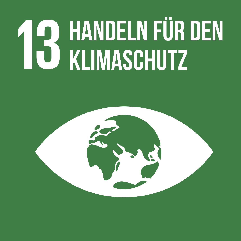 Ziel 13 Handeln für den Klimaschutz
