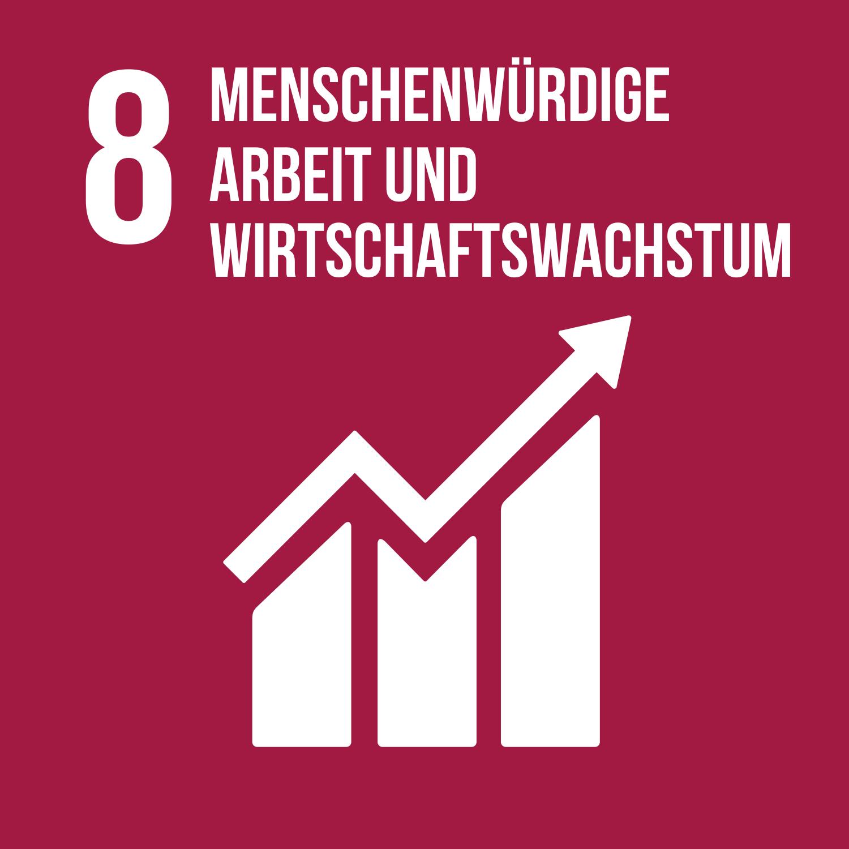 Ziel 8 menschenwürdige Arbeit und Wirtschaftswachstum