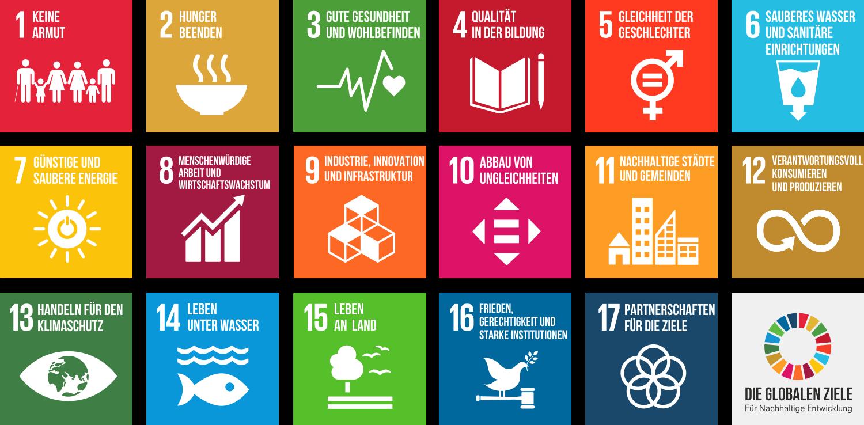 Die globalen Ziele für Nachhaltige Entwicklung (SDGs)