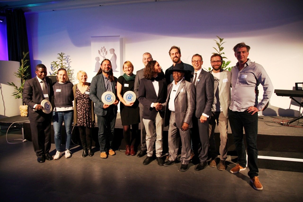 Laureates of the Federal Award for Sustainability 2018 | Image: Sil Egger