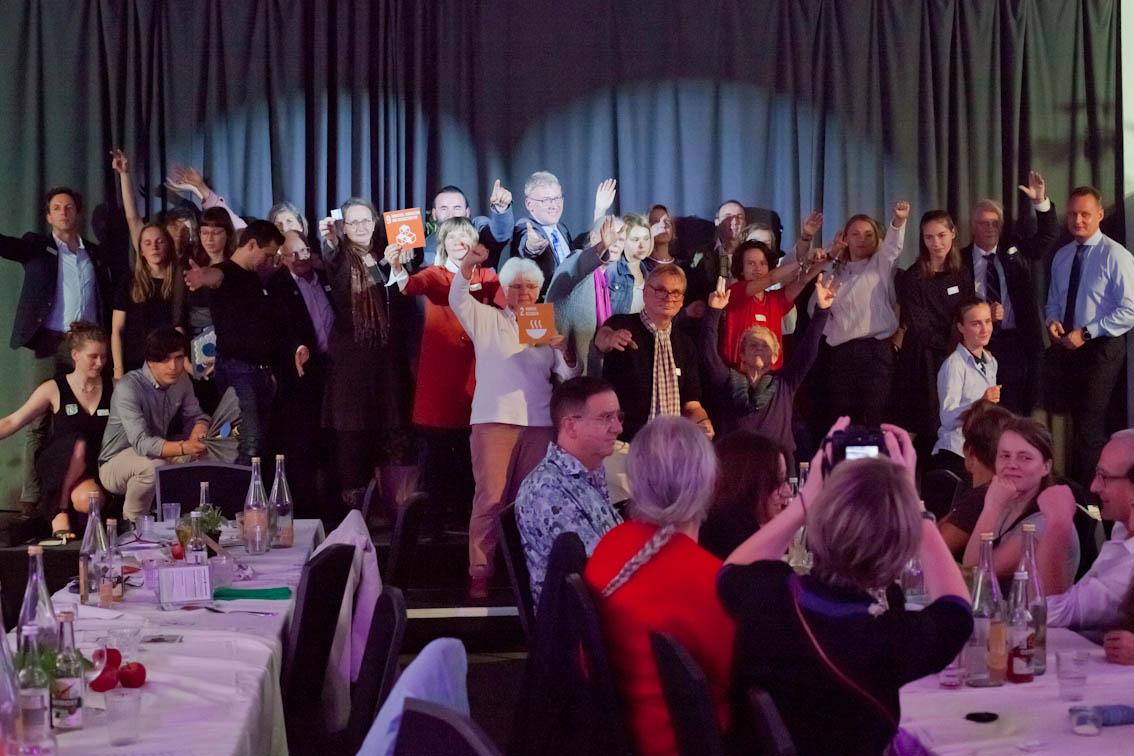 Sieben Preisträger mit dem Bundespreis Nachhaltigkeit 2019 ausgezeichnet