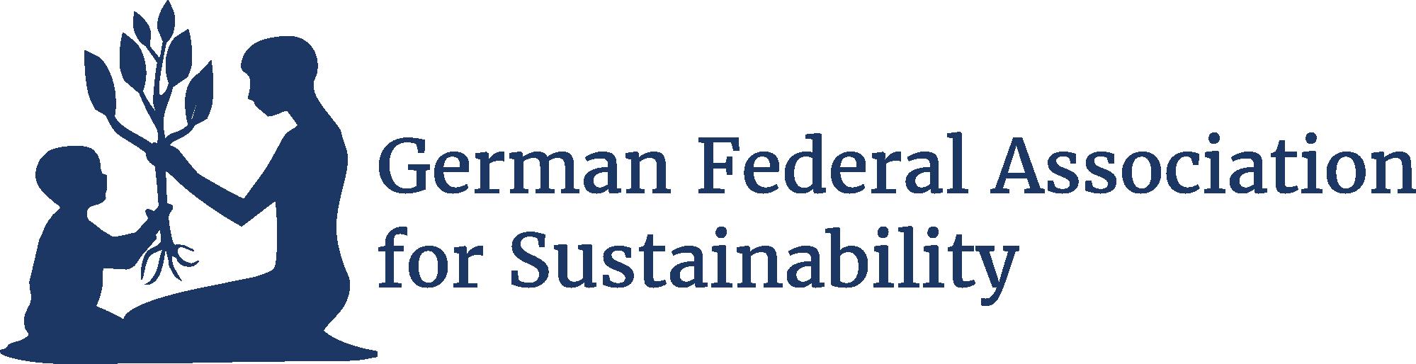 Logo Englisch Bundesvereinigung Nachhaltigkeit